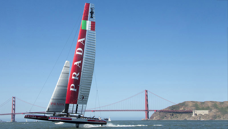 Persico marine projects: Luna Rossa Challenge and Artemis Racing