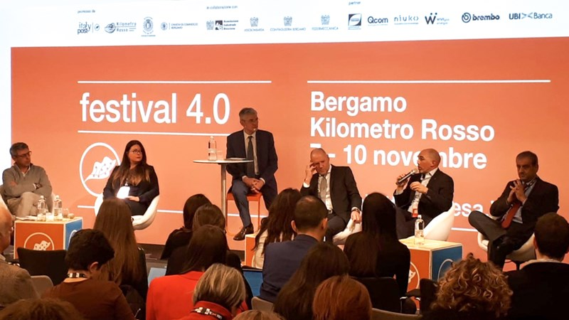 Persico Group supported the CittàImpresa Festival @Kilometro Rosso in Bergamo
