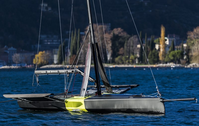 Persico 69F, one-design monohull foiler now in production